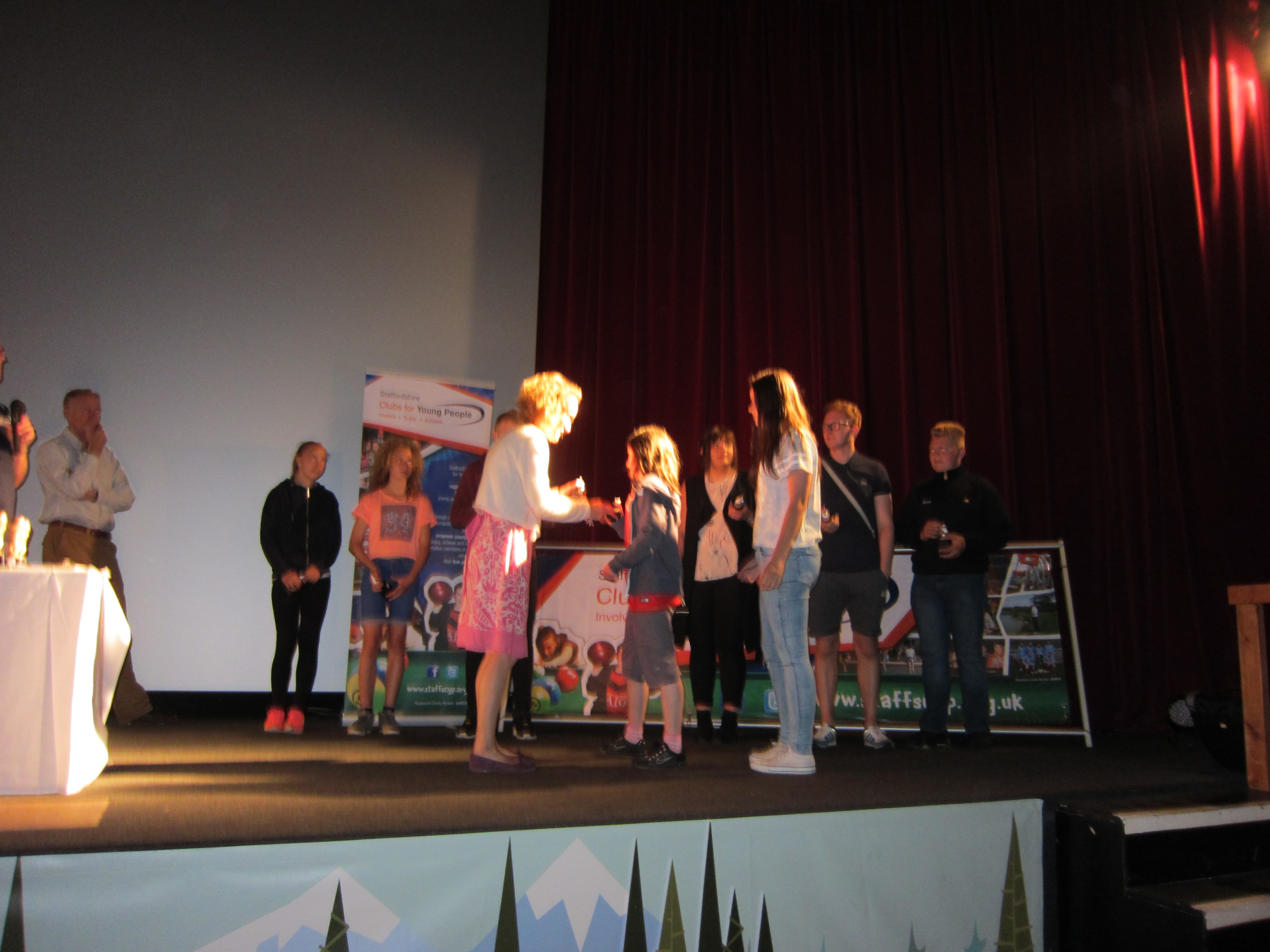 Staffordshire Clubs for Young People - Annual Presentation Event 2015 (2)