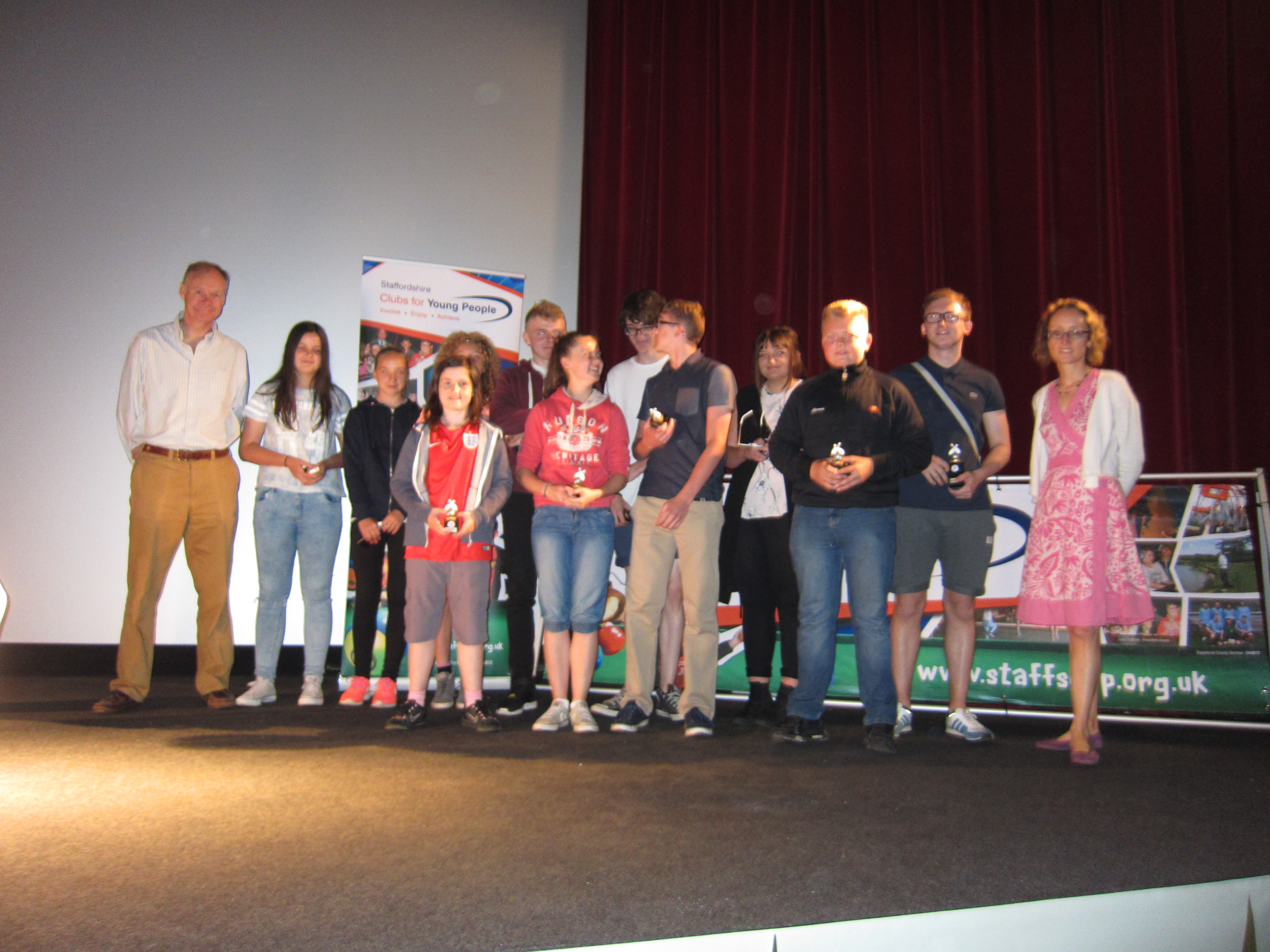 Staffordshire Clubs for Young People - Annual Presentation Event 2015 (3)