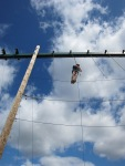 Staffs CYP - Whitemoor Lakes day - High ropes (2)