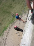 Staffs CYP - Whitemoor Lakes day - Abseiling