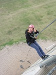 Staffs CYP - Whitemoor Lakes day - Abseiling (2)
