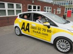 Staffs CYP - AA Driving Awareness Photo