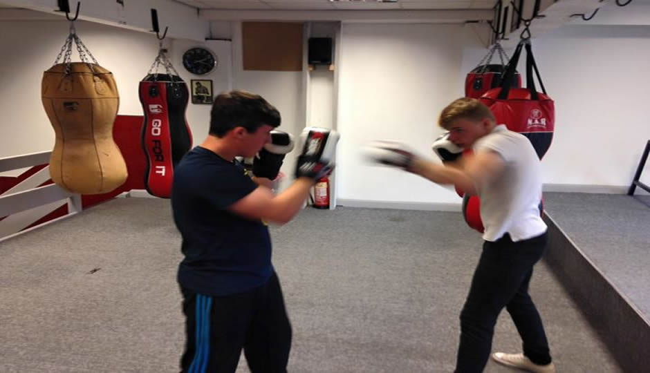 Staffordshire Clubs for Young People - Boxing