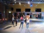 Dance lesson at Chesterton vision centre