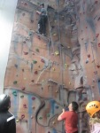 chesterton YC indoor climbing