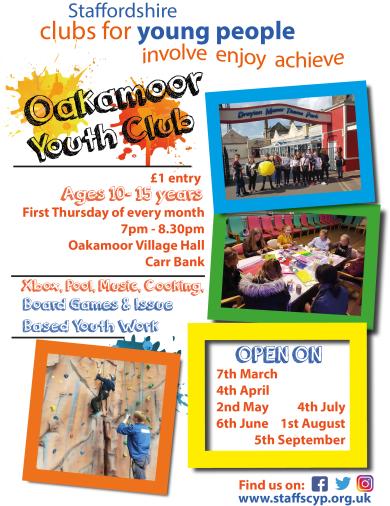 FACEBOOK - Oakamoor New Poster