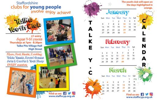 Talke New Calendar Facebook