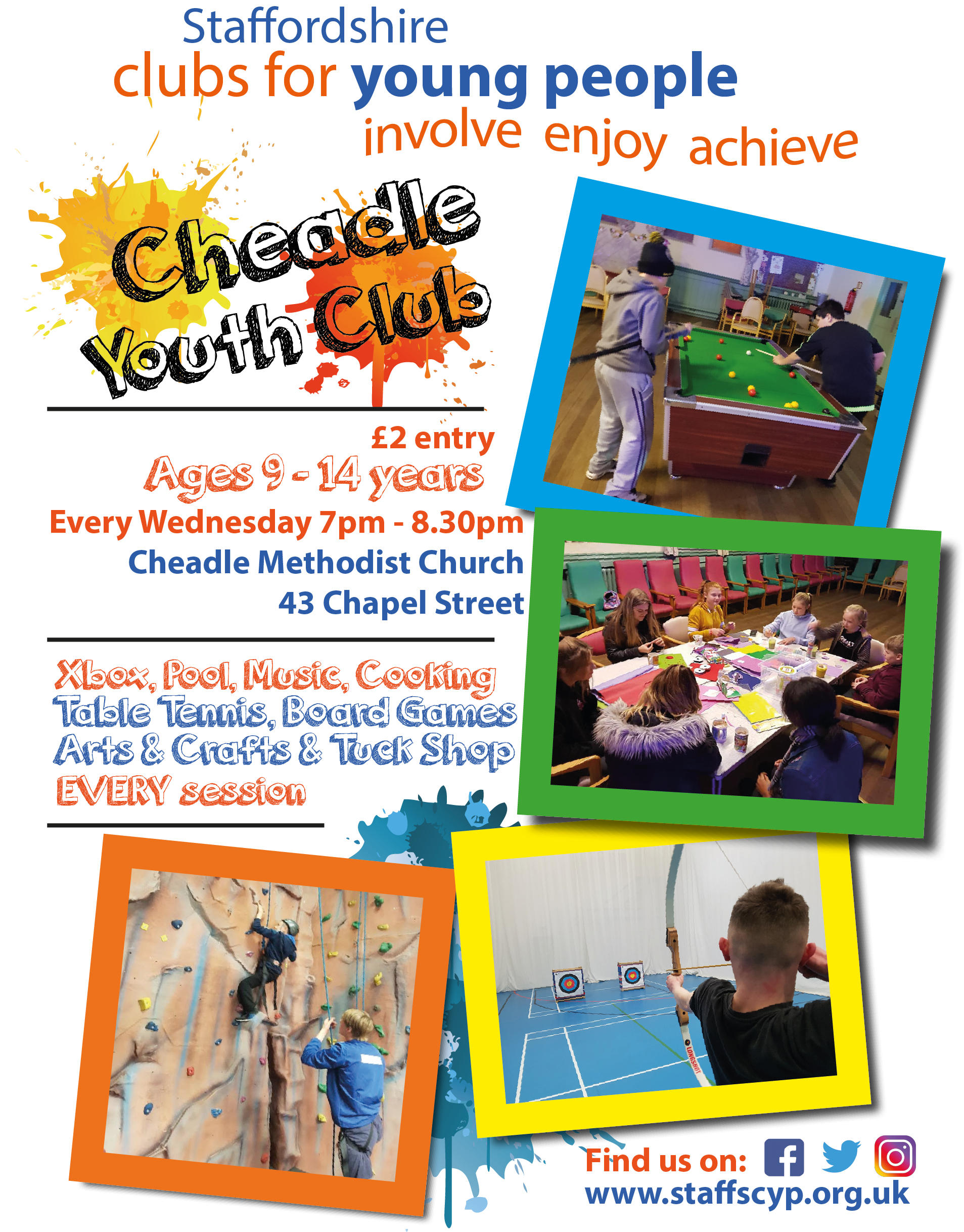 Cheadle Youth Club General Facebook Post v2