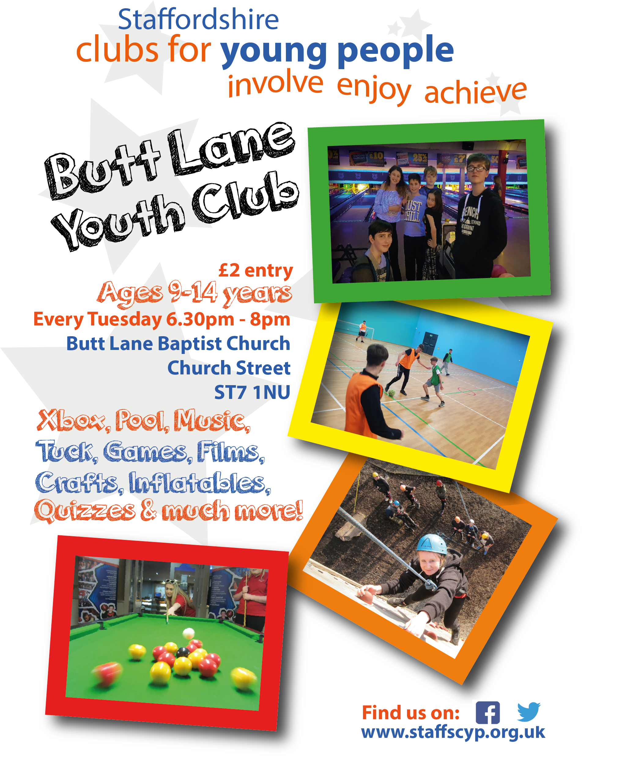 Facebook - Butt Lane Youth Club